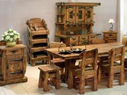 Изготавливаем мебель под старину