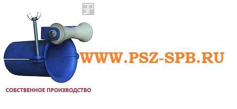 Вводной патрубок с одним роликом ВП1 76 76-82мм - САНКТ-ПЕТЕРБУРГ