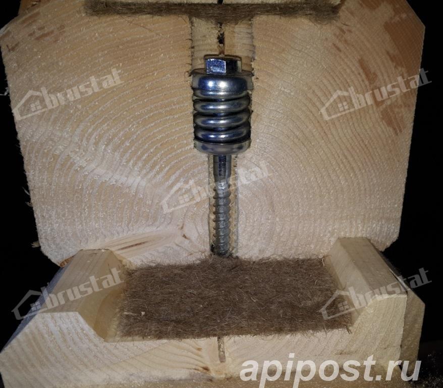 Пружинный узел сила для сборки деревянных строений - Набережные Челны