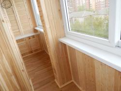 Отделка балконов, лоджий Красноярска.