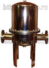Титановый фильтр промышленный для очистки воды - МОСКВА