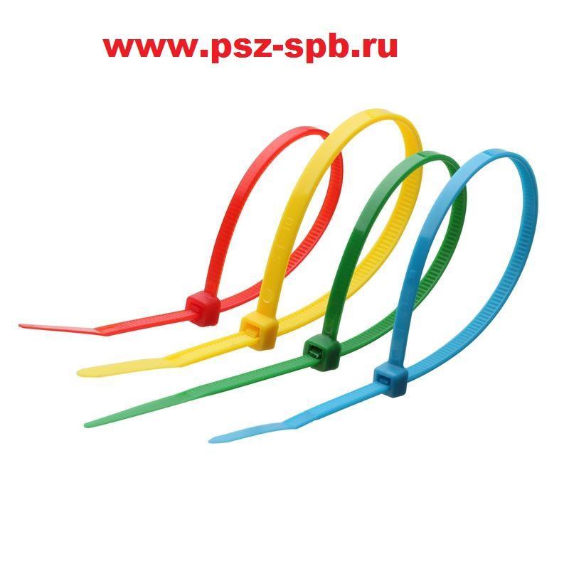 Стандартные нейлоновые стяжки Тип КСС цветные - САНКТ-ПЕТЕРБУРГ
