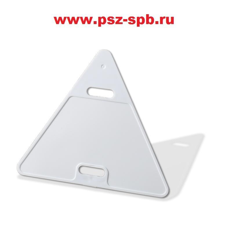 Бирка кабельная маркировочная треугольная Модель У-136 - САНКТ-ПЕТЕРБУРГ