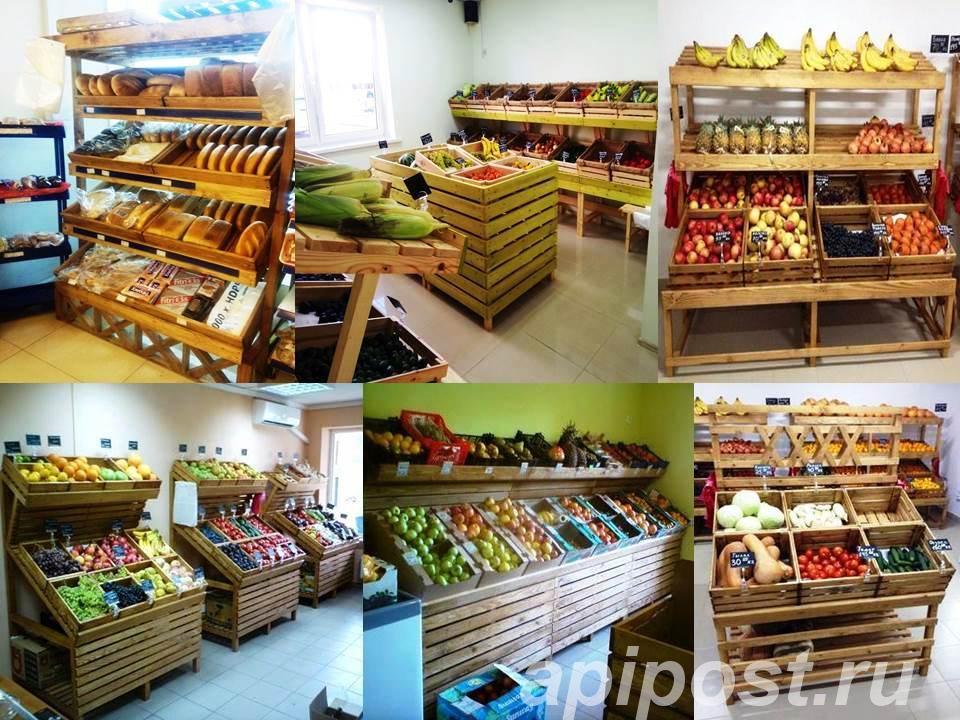 Стеллаж ECO 201 для овощей , фруктов, хлеба и тгд - КРАСНОДАР