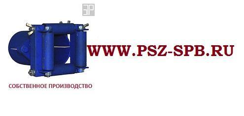 Вводной патрубок с 4-мя роликами ВП4 76 76-82мм - САНКТ-ПЕТЕРБУРГ