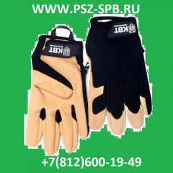 Перчатки монтажника, серия ПРОФИ С-40L КВТ