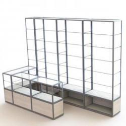 Изготавливаем стеллажи, витрины и прилавки