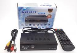 Тюнер DVB-T2 Eurosky ES-20 IPTV, Youtube, Megogo