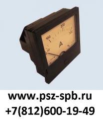 Э365-1, Э365-2, Э365-3 амперметр, вольтметр