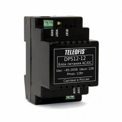 Блок питания AC-DC TELEOFIS DPS12-12