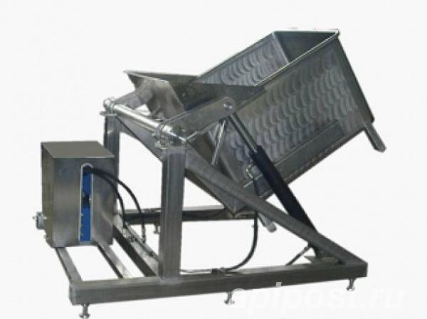 Подъёмник - опрокидыватель гидравлический для биг-боксов - МОСКВА