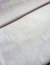 Ткань полульняная для крестильных наборов и...