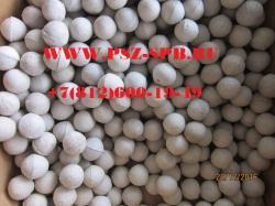 Шары фарфоровые производство