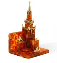 Визитница - сувенир Московский кремль