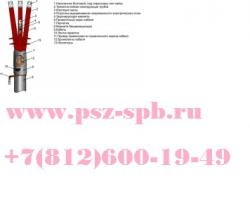 Муфты концевые-3 ПКНТпб 10 70-120
