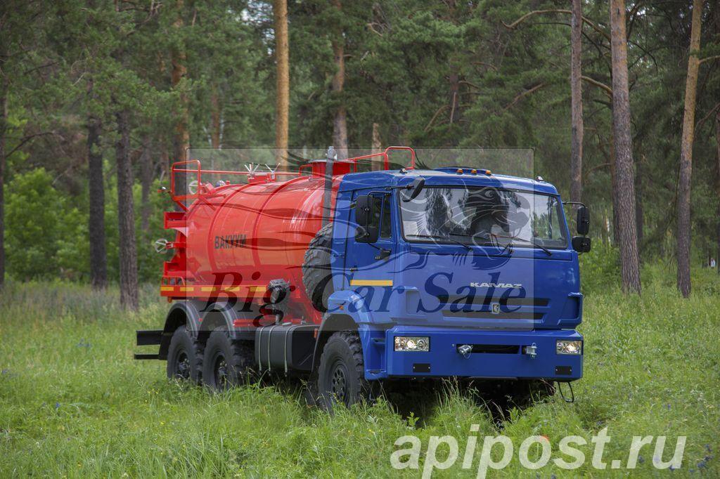 Автоцистерна АКН-10ОД на шасси КАМАЗ-43118 - САРАНСК
