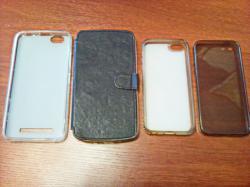 Чехлы для телефонов Lenovo Vibe C и iPhone 5 5S.