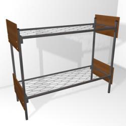 По доступным ценам кровати металлические