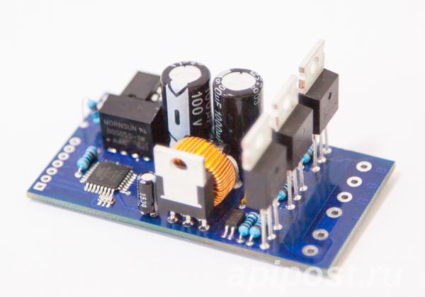DMX декодер RGB 7-60VDC до 1,98 кВт на канал VJLight DD-3. - МОСКВА