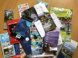 Журналы, туркарты Японии на англ. и яп. языках