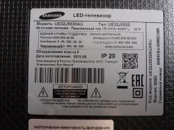 Samsung UE32J5530AU запчасти разбор