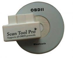 Диагностический OBDII сканер Scan tool Pro с подключением
