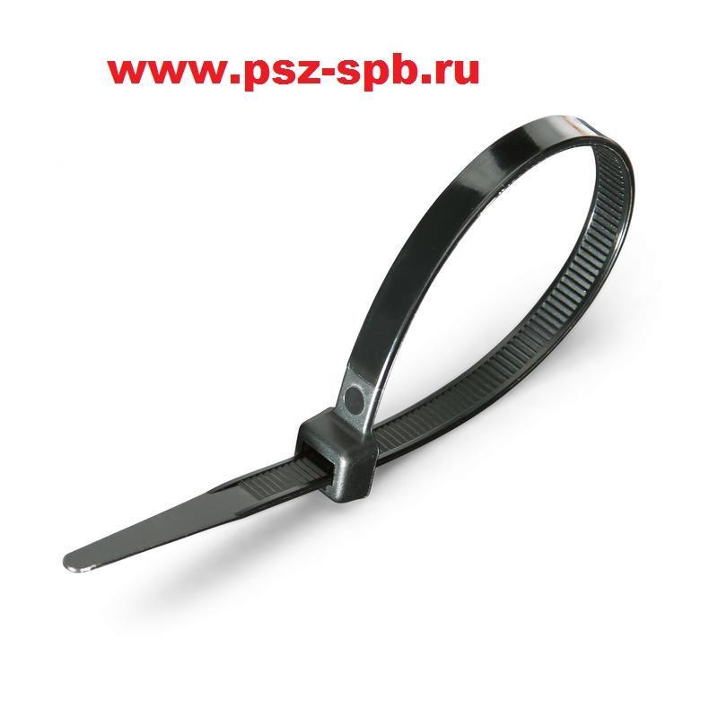 Стандартные нейлоновые стяжки Тип КСС цвет черный - САНКТ-ПЕТЕРБУРГ