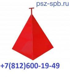 Пирамида для пожарного гидранта 700 700 800