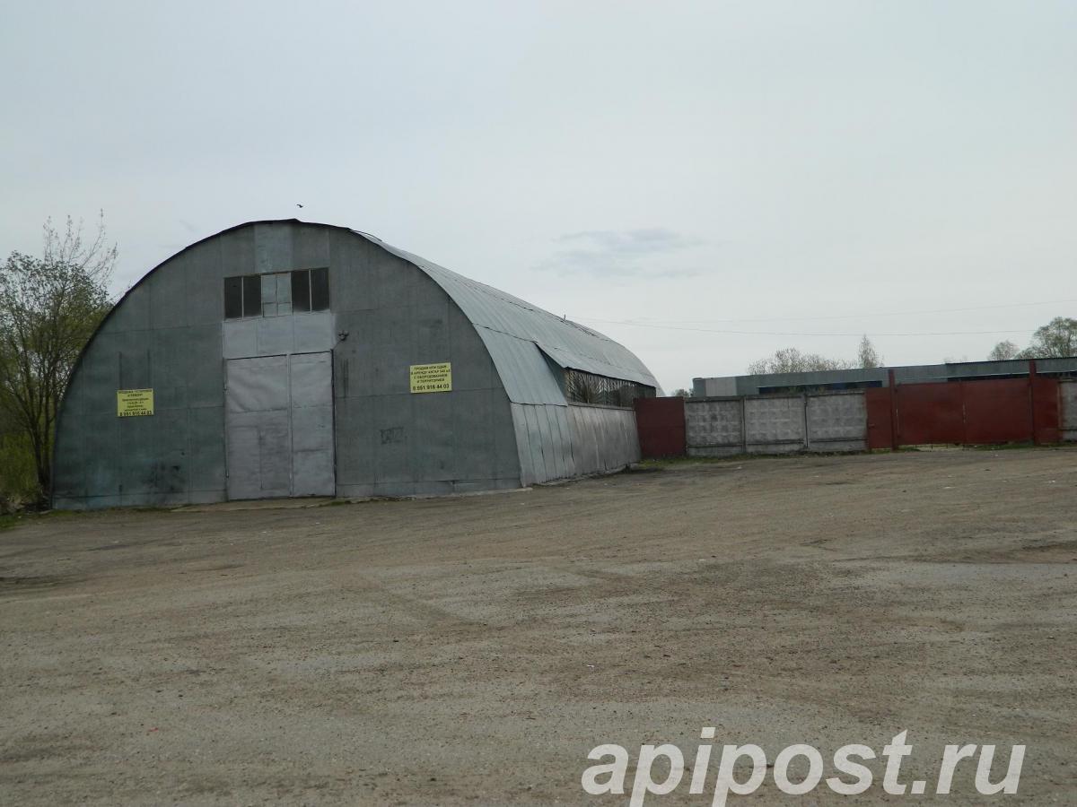 Тёплый ангар 540м2 с кран-балкой и др. тер-я 1250м2 - Богородск