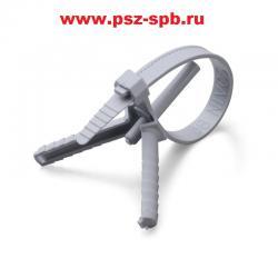 Стяжки крепежные с дюбелем Тип КСД