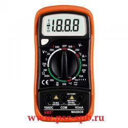 Мультиметр цифровой Модель MAS838