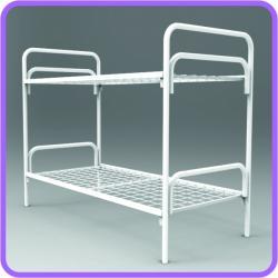 Кровати металлические двухъярусные оптом