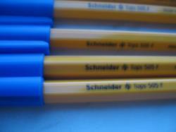 SCHNEIDER Tops 505 F шариковые ручки синии