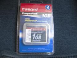 TRANSCEND 1GB CompactFlash