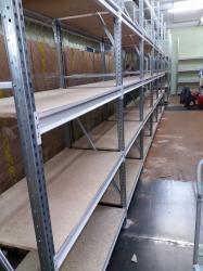 Стеллажи складские среднегрузовые серии SFM до 800 кг