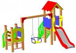 Детские уличные игровые площадки от производителя
