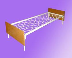 Кровати металлические собственного производства