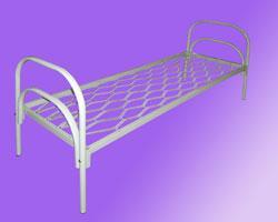 Кровати металлические односпальные, армейские кровати