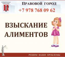 Взыскание алиментов г. Севастополь