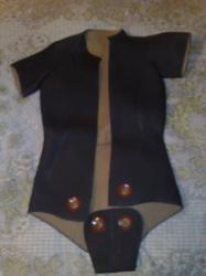 Шлем и куртка гидрокостюма Чайка