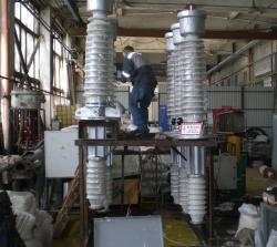 Ввод высоковольтный 110 кВ 220 кВ для выключателя ГМВБ