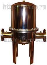 Титановый фильтр промышленный для очистки воды