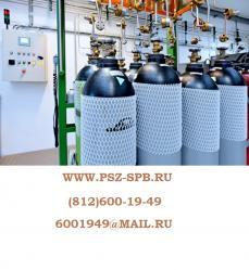 Газы в баллонах - Производство в Санкт-Петербурге