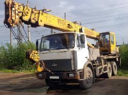 Автокран Машека 25 т, 30 м