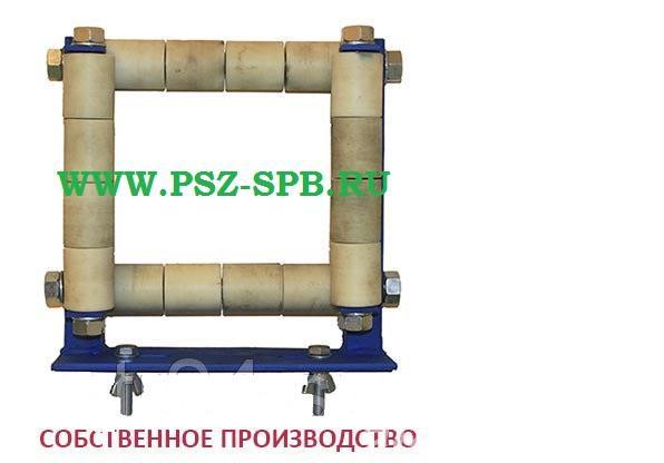 Ролик направляющий для протяжки кабеля по лоткам РЛН4-100 - САНКТ-ПЕТЕРБУРГ