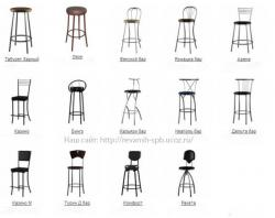 Барные стулья Кальяри бар и другие модели.