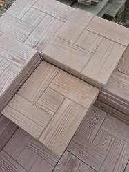 Тротуарная плитка брусчатка из бетона