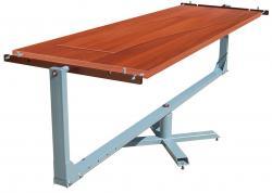 Покрасочный стол для дверных полотен