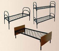 Металлические армейские кровати, кровати двухъярусные