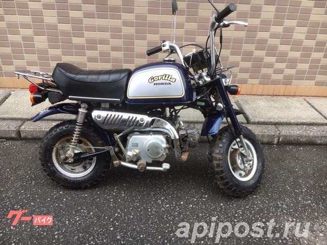 Мопед мокик Honda Monkey Gorilla рама Z50J гв 1993 Minibike - МОСКВА
